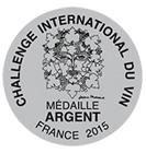 Medalla de plata Challenge du vin
