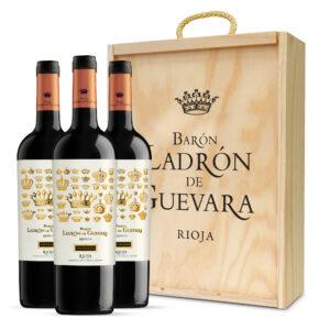 ESTUCHE LDG DE AUTOR CRIANZA (3 botellas)